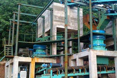 350-400吨每小时花岗岩破碎筛分雷竞技Raybet官网