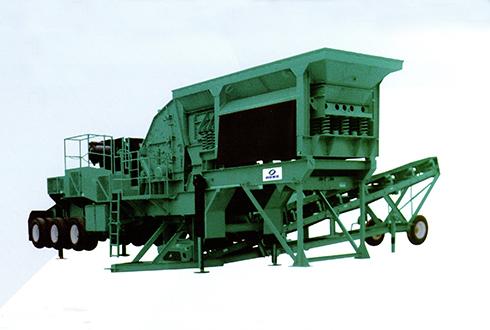 MP系列CGF雷竞技电竞轮胎移动立式冲击破碎站