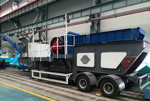 MP系列CGE雷竞技电竞轮胎移动颚式破碎站